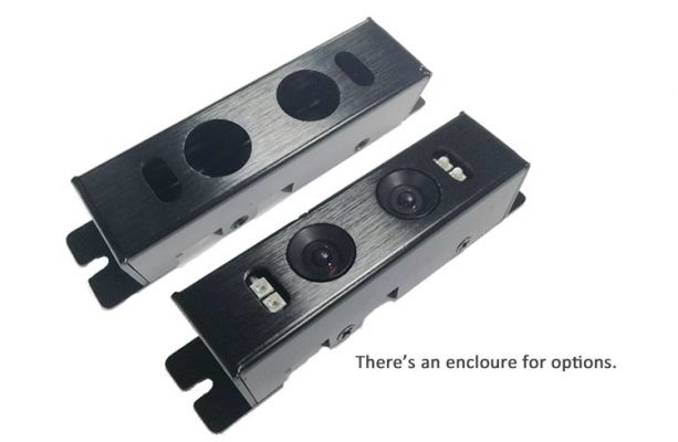 a Housing for dual lens camera module