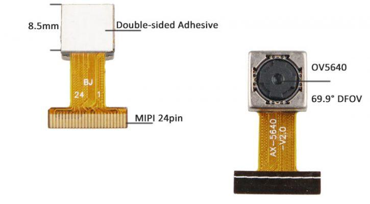 OV5640-mipi-camera-module CSI 24pin