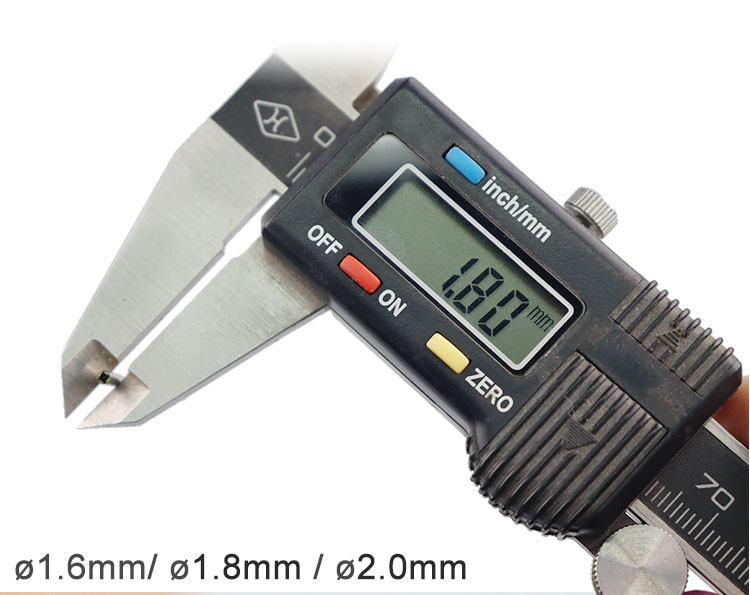 1.6mm 1.8mm 2mm endoscope