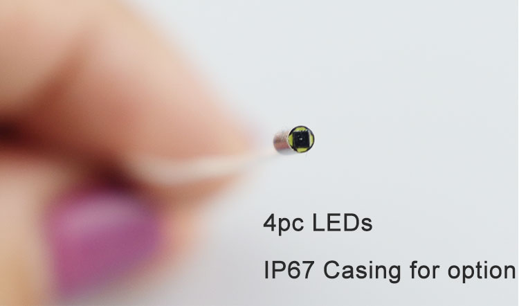 1.8mm endoscope with 4pcs led