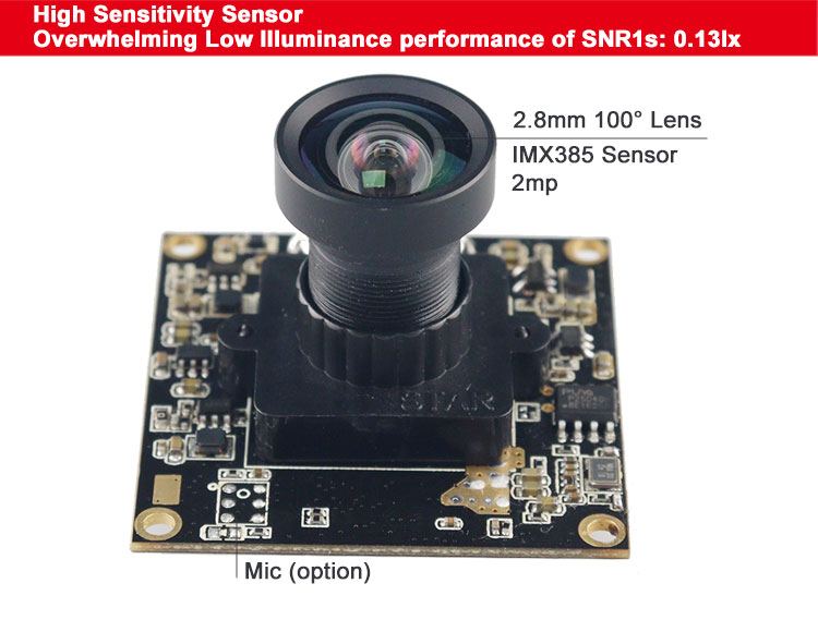 IMX385 Camera Module USB3.0 high sensitivity