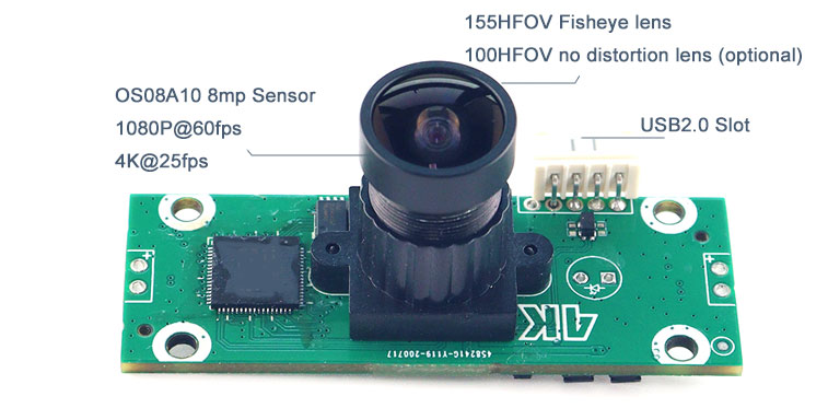 4k oem camera high speed 60fps