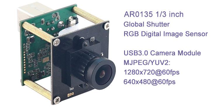 AR0135 Color Camera module 1.2mp