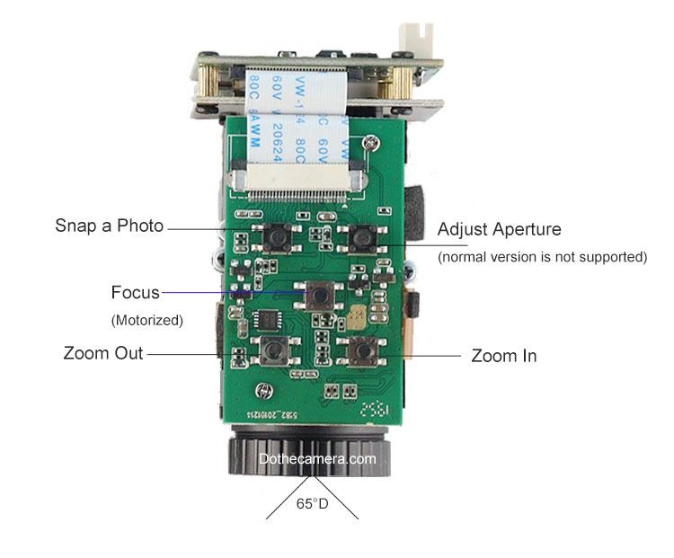 button description of 10x optical zoom camera