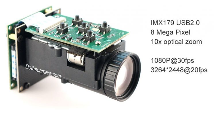 specifications of 10x zoom optical camera kit