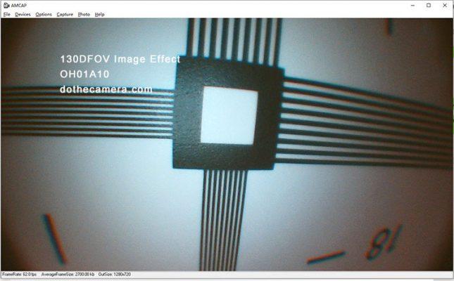 OH01A10 Endoscope 720P 130DFOV