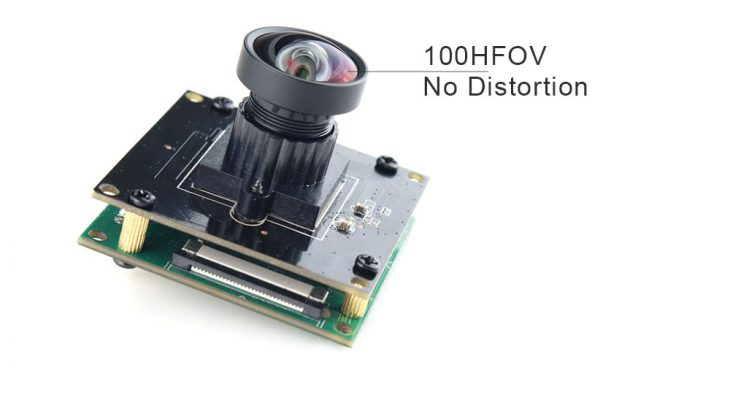 4k camera module no distortion 100HFOV for meeting video