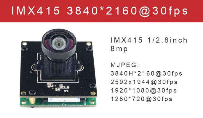 SONY imx415 camera module usb 4k 30fps